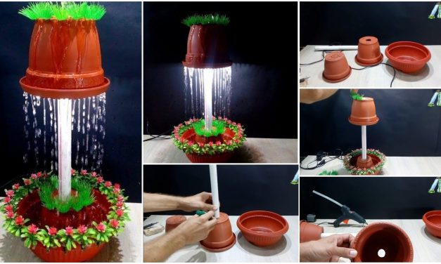 How to make a fountain night lamp