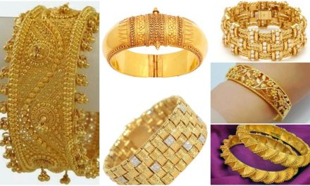25 Latest designs of gold bangles