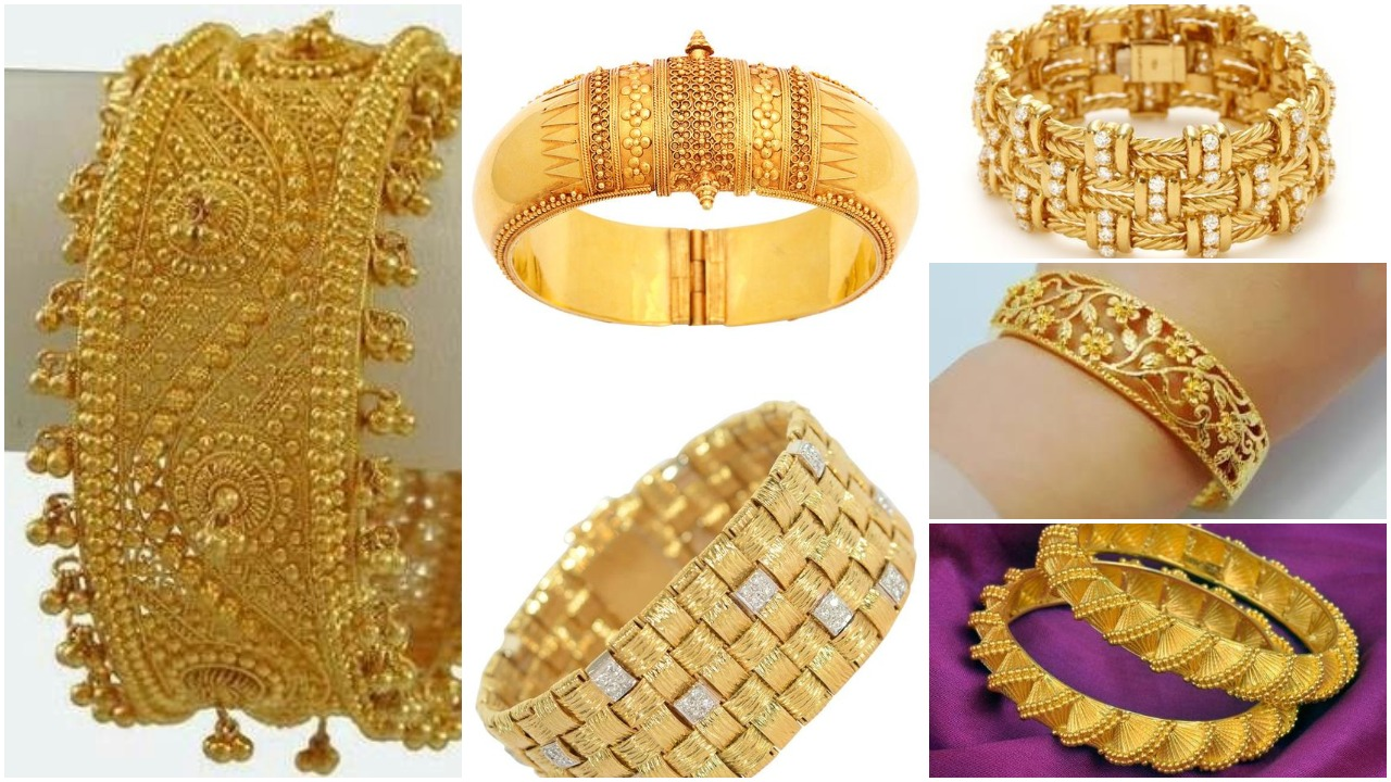 gold bangles designs catalogue