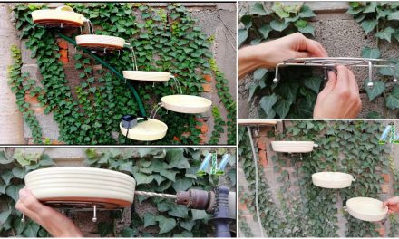 How to make a beautiful terracotta fountain on wall