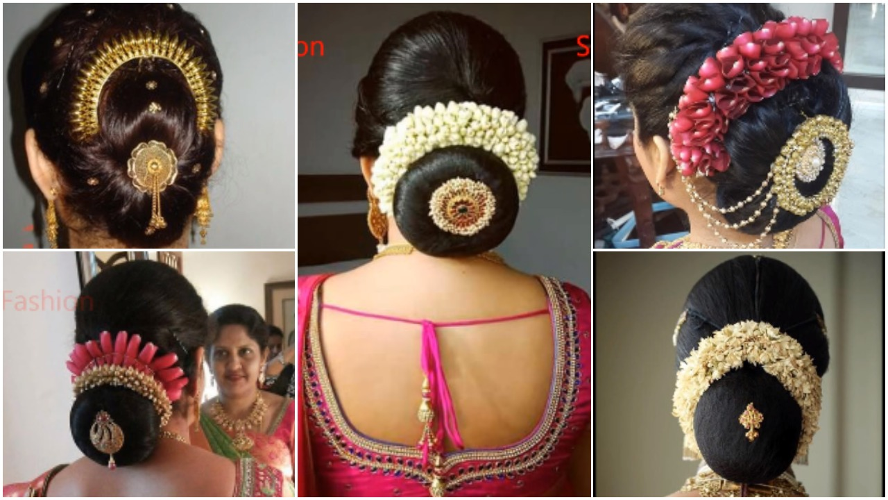 Indian bridal hairstyles perfect for your wedding - Simple Craft Ideas