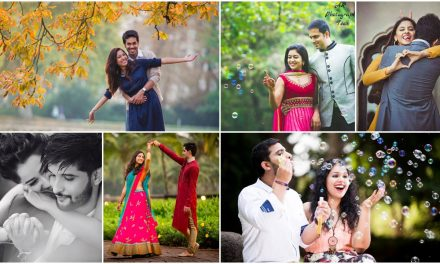 Romantic pre-wedding photoshoot poses that every engaged couple needs to try
