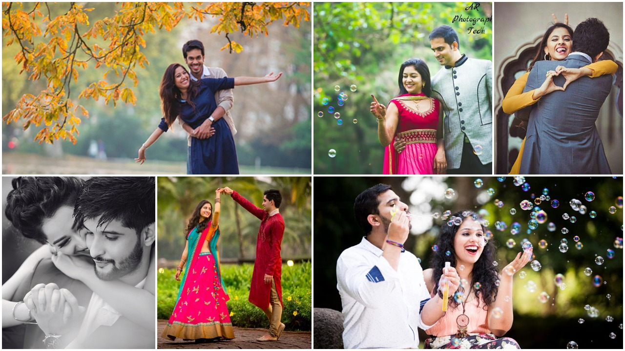 Romantic Pre Wedding Photoshoot Poses That Every Engaged Couple Needs To Try Simple Craft Ideas