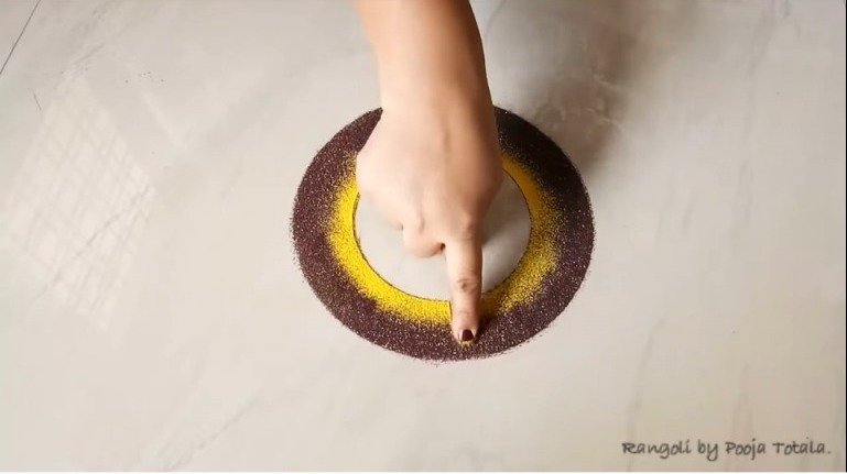 Innovative Rangoli