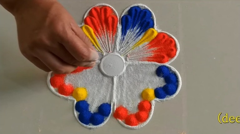 Simple and Tricky Rangoli