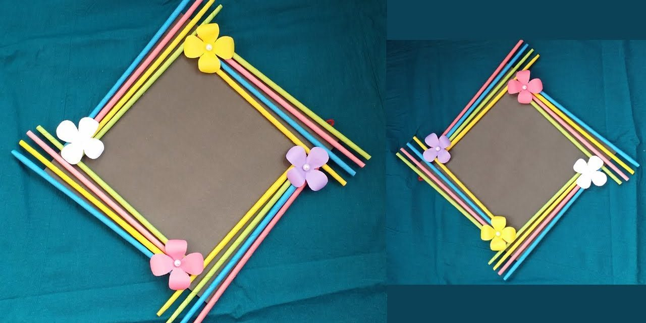 Easy photo frame tutorial