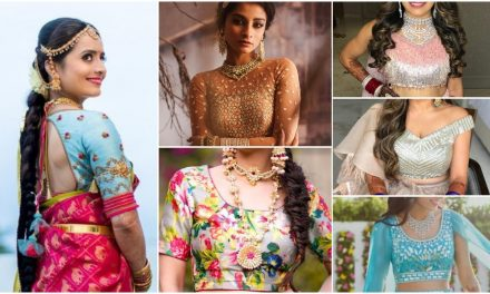 10 Unique blouse designs to pop up your bridal look