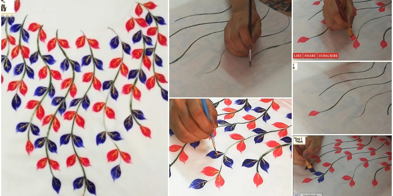 Easy fabric painting for beginners