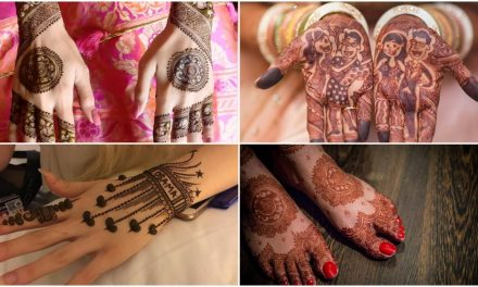 Stylish mehndi designs for both,bride and grooms