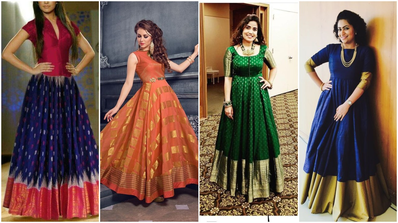 dresses made from old sarees