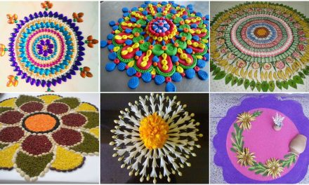Get innovative rangoli designs and creative rangoli ideas
