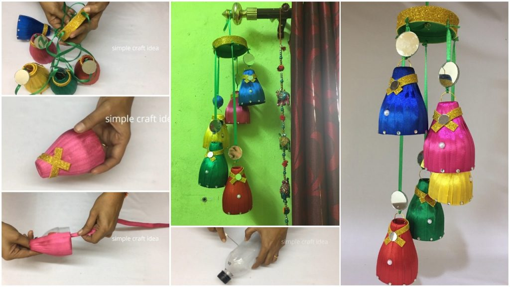 Wind Chime With Recycled Materials