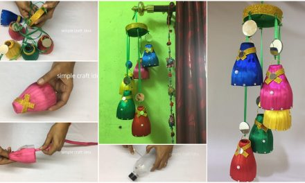 How to make wind chime with recycled materials