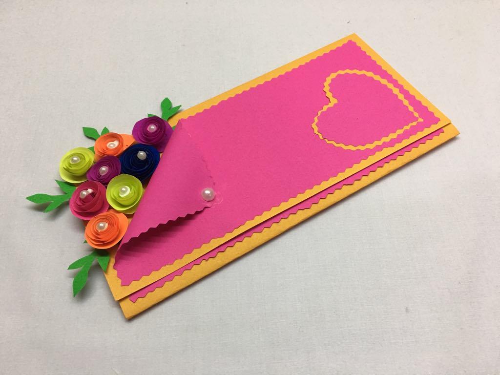 handmade greeting card  simple craft ideas