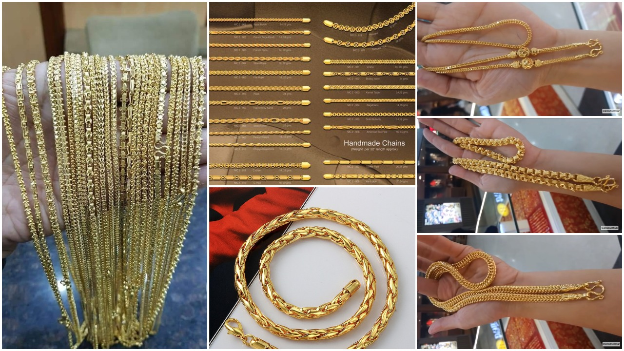 Latest long gold chain designs (16)