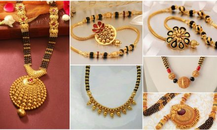 Latest gold mangalsutra designs