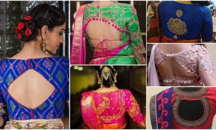 Ultimate designer blouse back designs catalogue