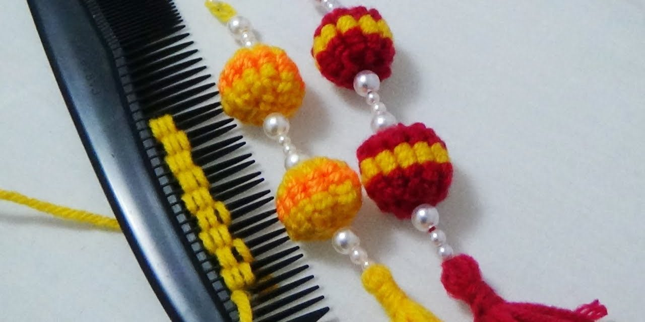 Hack to make hand embroidery tassels