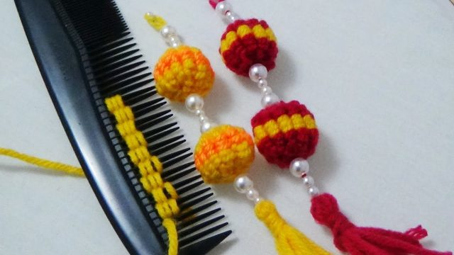 hand embroidery tassels
