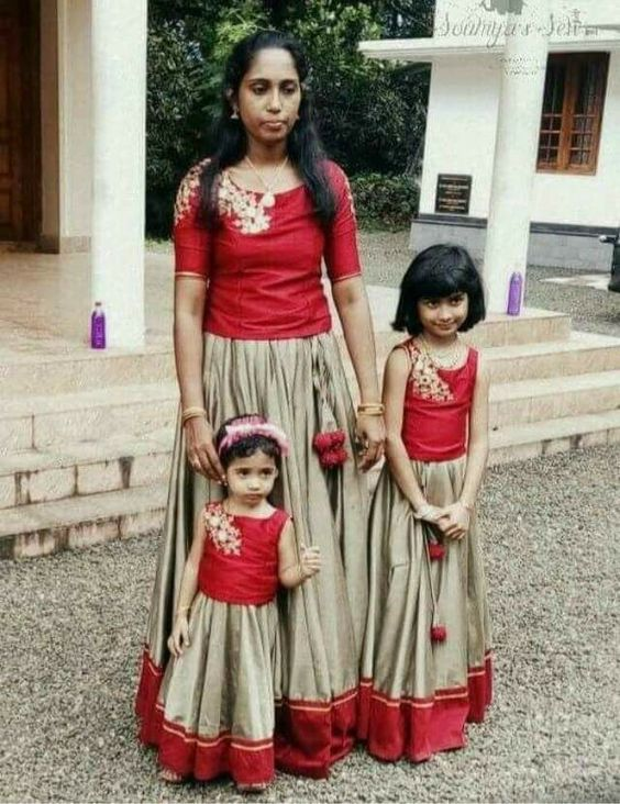 Matching Party Dresses