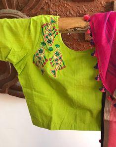 work on blouse