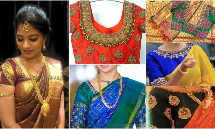 Simple aari work blouse designs that will inspire you