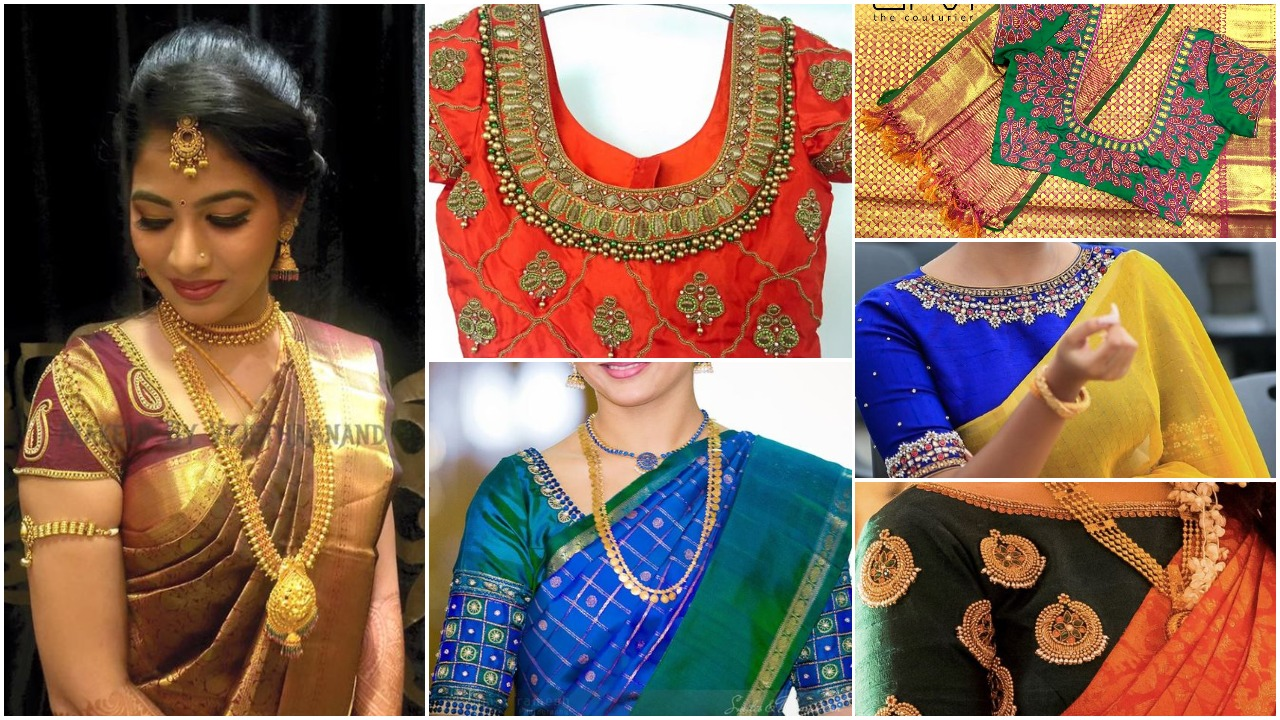 aari work blouse designs