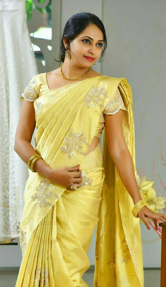 saree blouse sleeves
