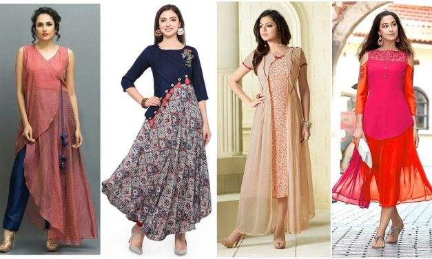 Latest indo western style kurti designs