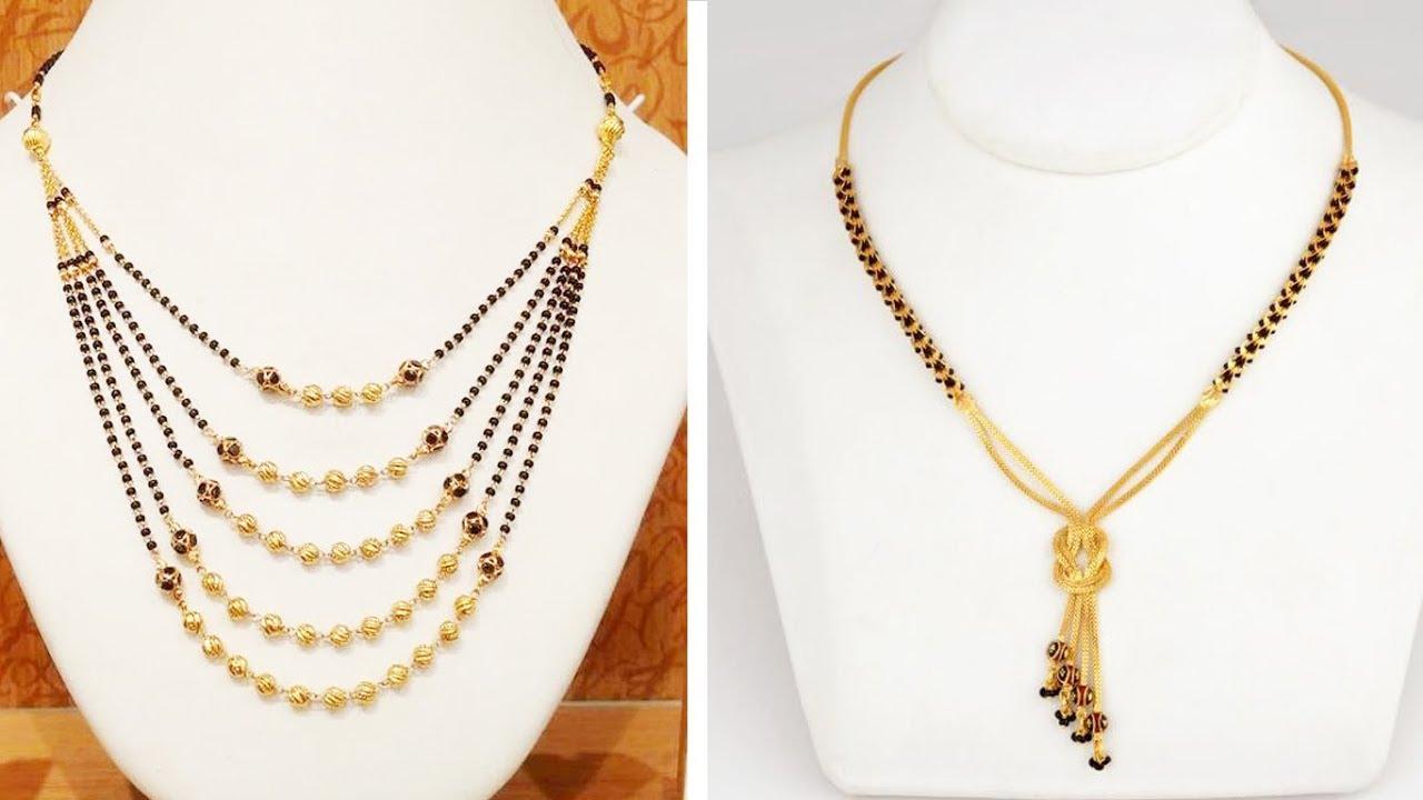 Gold Mangalsutra Designs