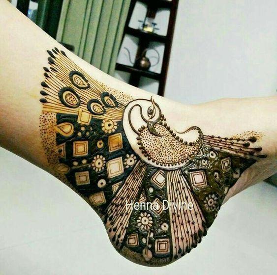 Peacock Mehndi