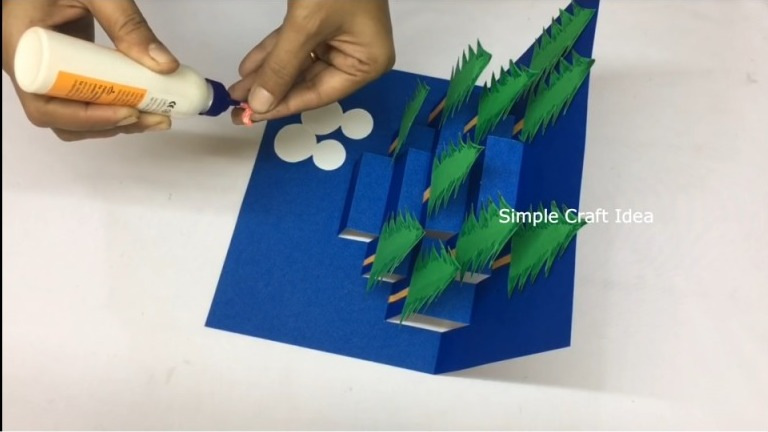 3D Pop Up Christmas Greeting Card