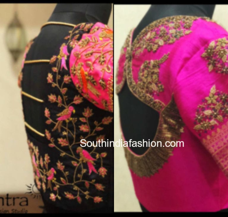 Bridal Silk Saree Blouse