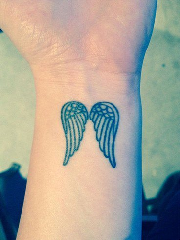 Angel Feather Tattoo