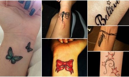 Modish tattoos for girls on wrist to inspire you