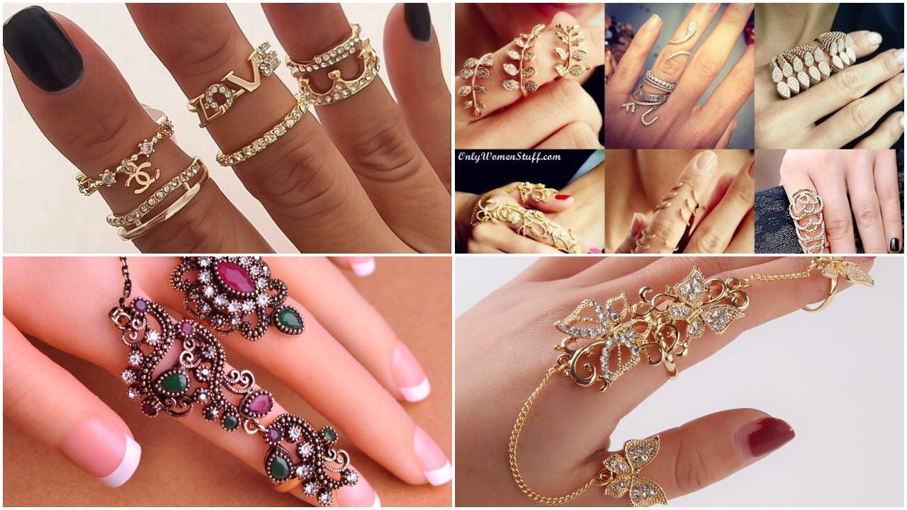 beautiful finger rings designs ideas