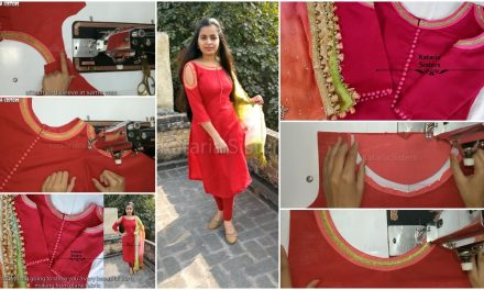 How to make stylish kurti