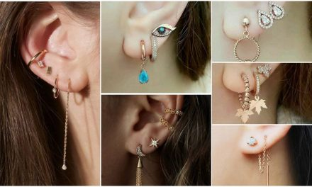 New stylish simple earrings designs