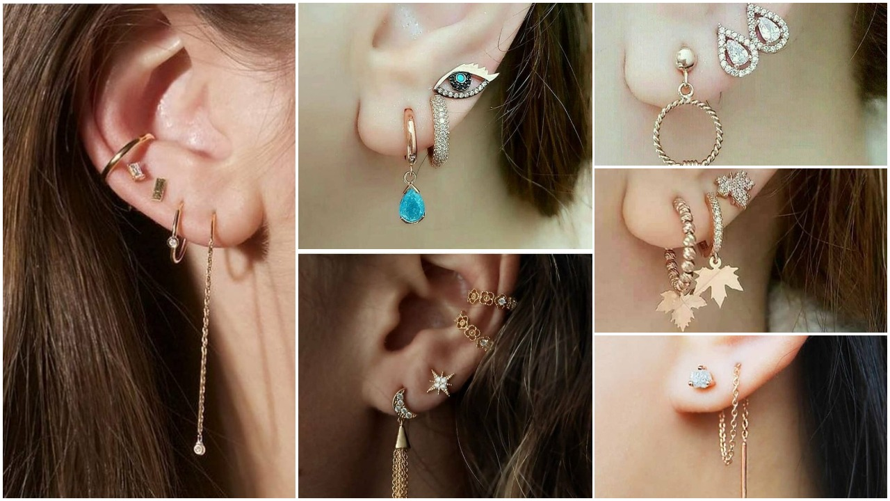 stylish simple earrings designs