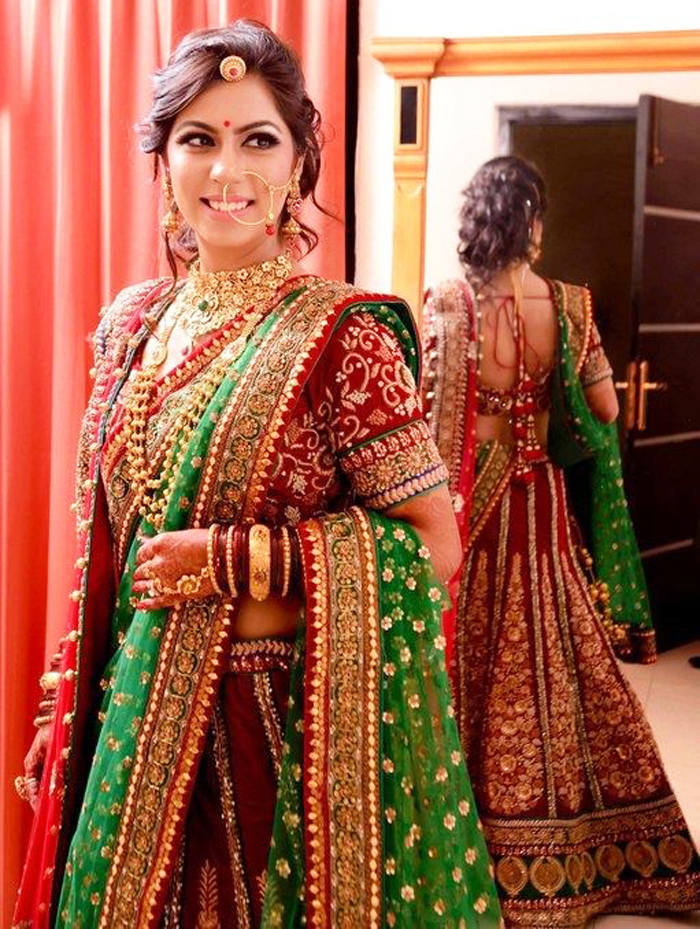 Indian Bridal Hairstyle Simple Craft Ideas