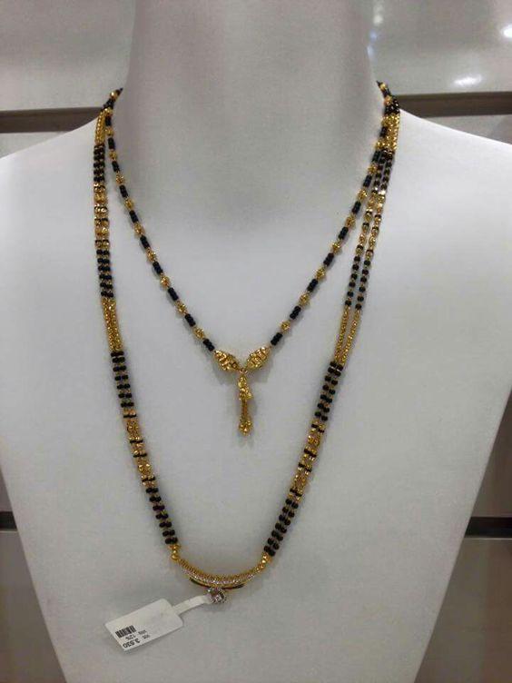 Latest Gold Mangalsutra Designs Simple Craft Ideas