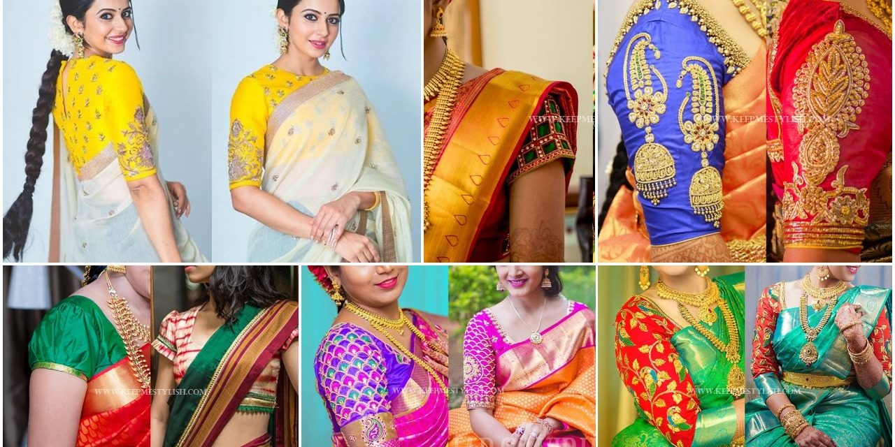 Traditional blouse designs patterns