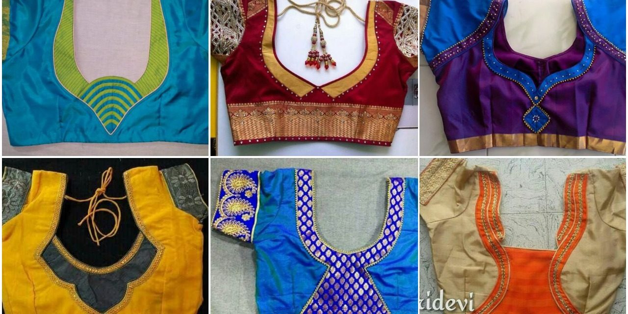 60 Easy And Simple Blouse Design To Try Simple Craft Ideas