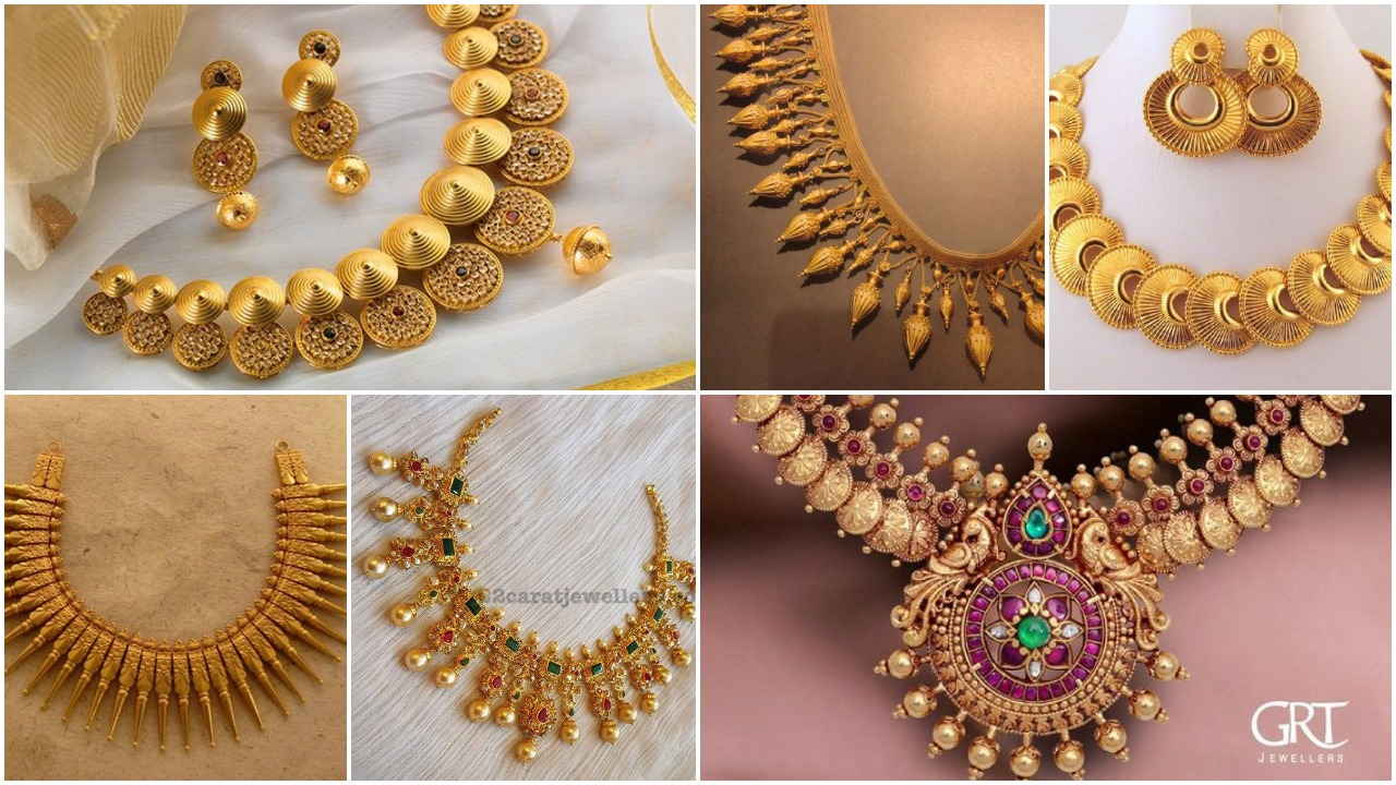 jewellery necklace designs collection