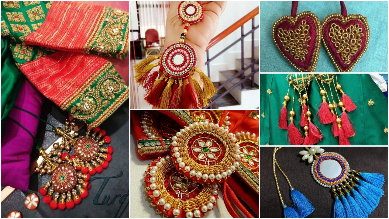 Best sari tassels