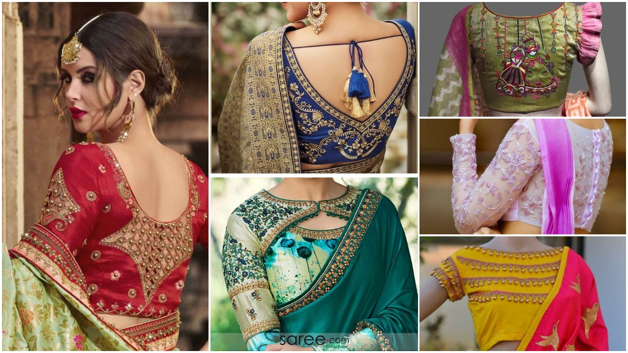 Indian saree blouse designs (32)