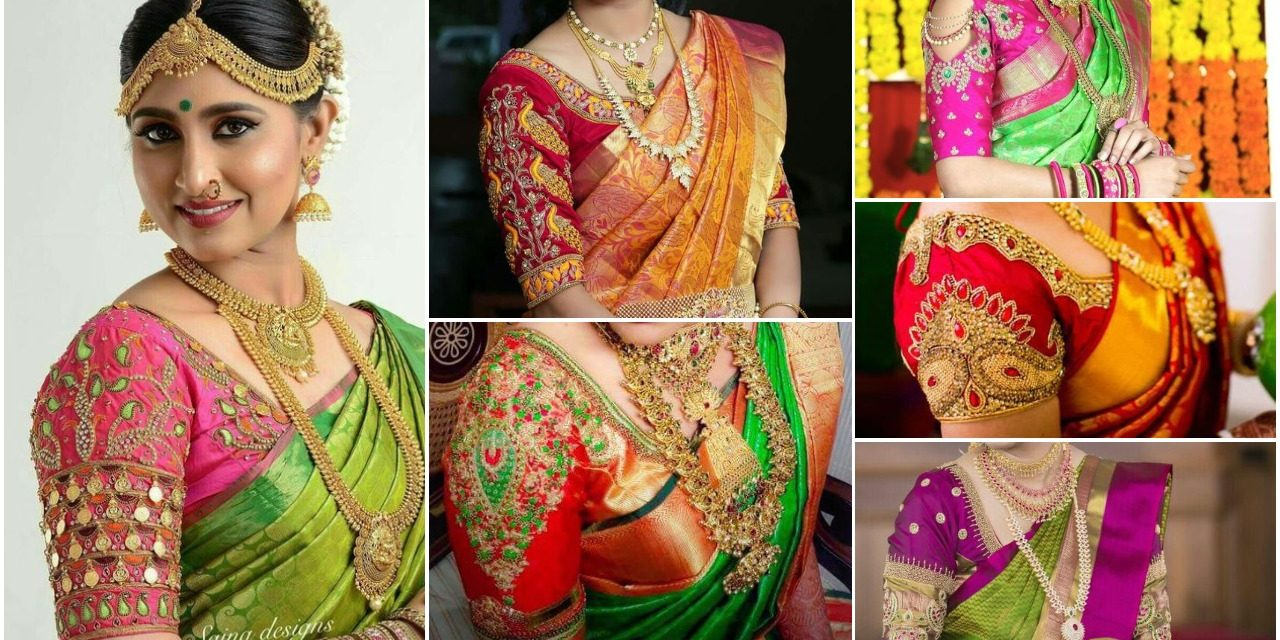 Traditional south indian bridal blouse designs