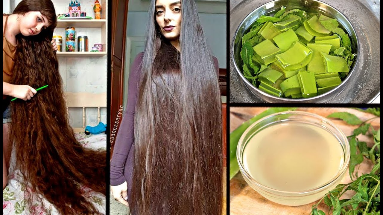 grow extremely long hair