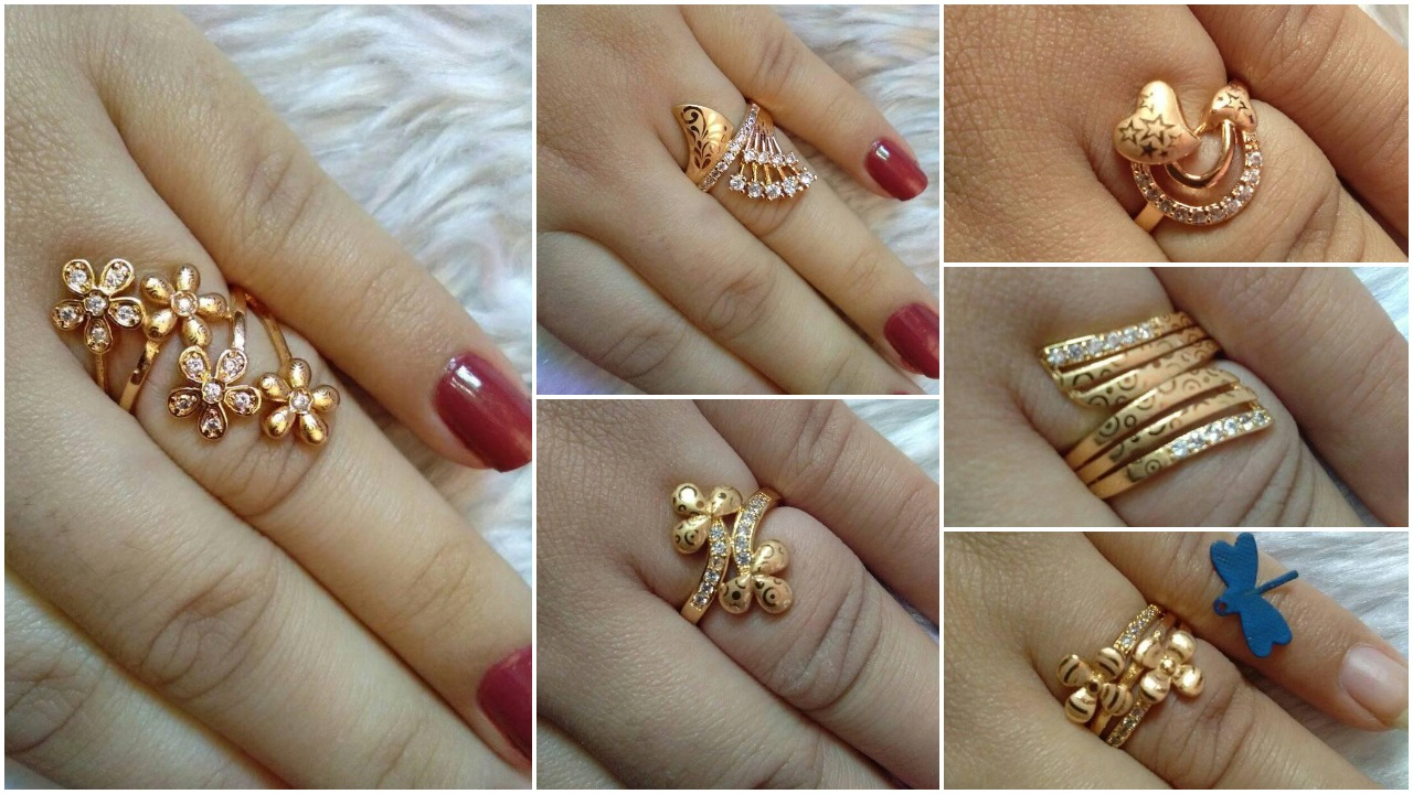 gold plated rings collections