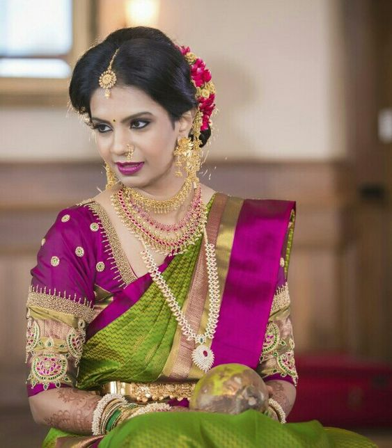 d0aa6d1f85 South Indian Wedding Saree Blouse Designs - The Best Wedding Picture ...